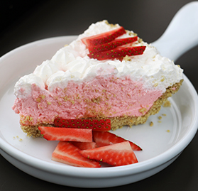 Pie, Strawberry Cream, 10""
