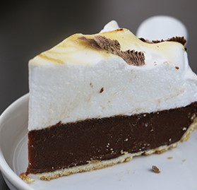 Pie, Chocolate Meringue, 10""