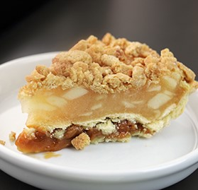 Pie, Apple with Sea Salt Caramel, 8 Slices