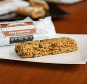 Bars, Granola, Chewy, Chocolate Chip