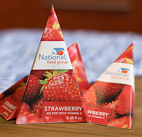 Icy Treat, Stickless, Strawberry