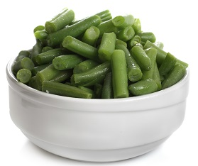 Vegetable, Green Beans Regular Cut IQF Bulk