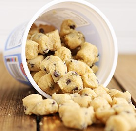 Cookie Dough Bites, Chocolate Chip, 3oz Cup, AA
