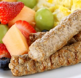 Breakfast Sausage, Link, Turkey, Maple
