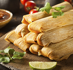 Tamales, Chicken w/Husk, 4.5oz