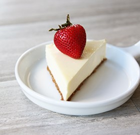 Cheesecake, New York, Unsliced, Half Sheet *K