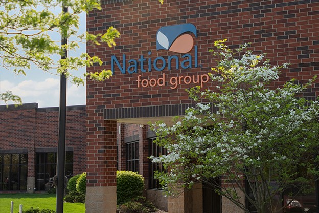Exterior of National Food Group office building