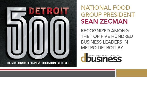 National Food Group President Named To Detroit 500 List