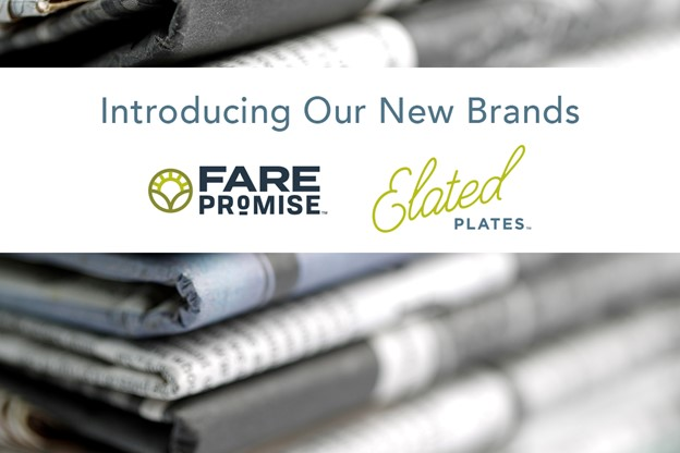 National Food Group Launches Elated Plates™ and Fare Promise™ Brands