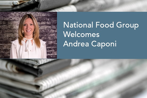 National Food Group Welcomes New Logistics Leader Andrea Caponi