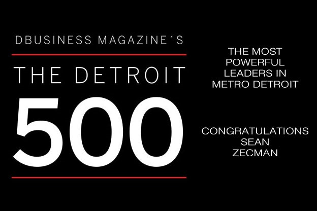 National Food Group President Sean Zecman Named  To Detroit 500 List Second Consecutive Year