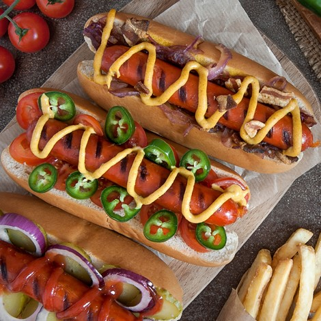 Vegetarian Hot Dogs