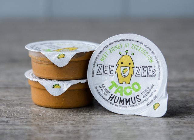 Zee Zees® Taco Flavored Hummus Available For Schools